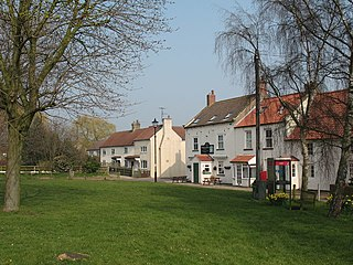 Danby Wiske Village in North Yorkshire, England