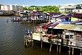 Village on the water Brunei. (15383937049).jpg