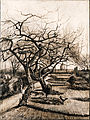 Vincent van Gogh - The Parsonage Garden at Nuenen in Winter - Google Art Project.jpg