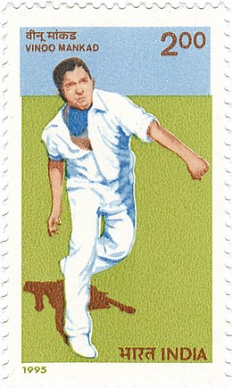 Vinoo Mankad 1996 stamp of India.jpg