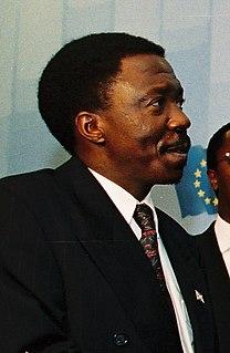 Sylvestre Ntibantunganya 6th president of Burundi (1994-96)