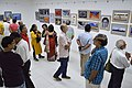 Visitors At Inaugural Day - 45th PAD Group Exhibition - Kolkata 2019-06-01 1302.JPG