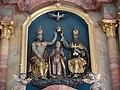 Vogt Pfarrkirche Hochaltar Relief Marienkrönung.jpg