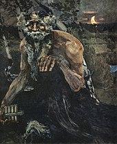 Mihail Vrubelj: Pan, 1899.