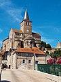 Vue 1 Eglise Notre Dame de Montmorillon à Montmorillon dans la Vienne.jpg