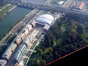 Cité Internationale - Aerial view of Cité Internationale