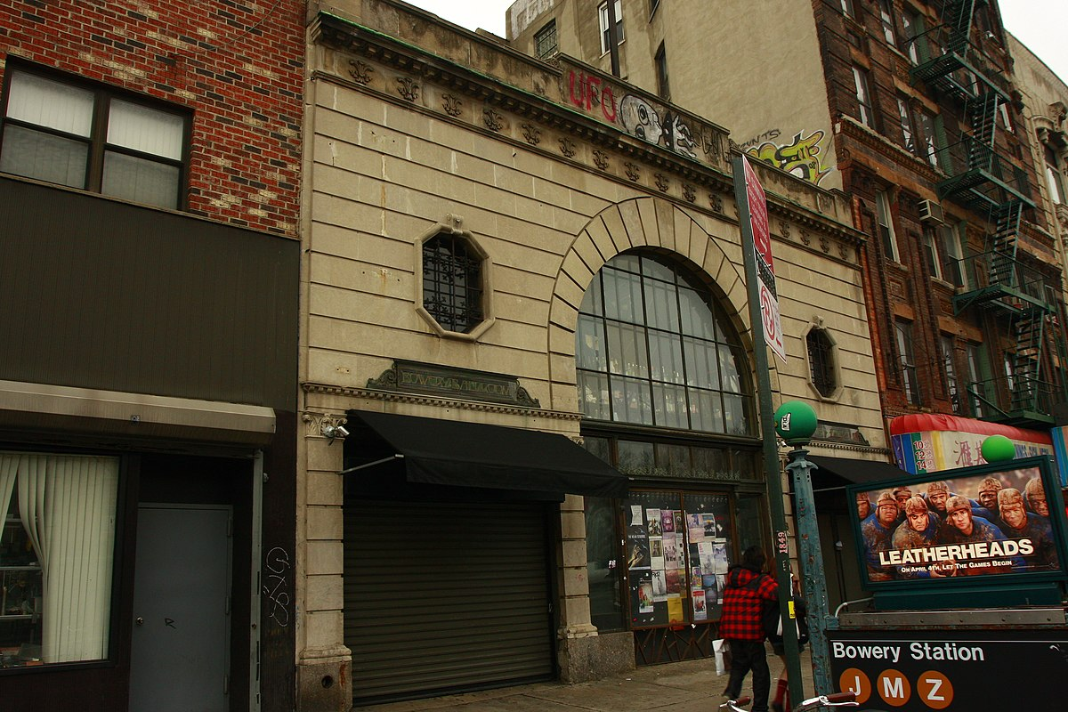 Bowery ballroom wikipedia for Sala new york