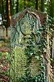 Waibstadt - Jüdischer Friedhof - mittlerer Teil - Grabstein mit Symbol Levitenkanne.jpg