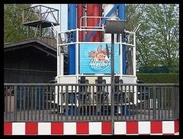 Space Shot in Walibi Holland werd gebouwd door S&S Power