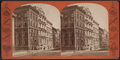 Wall Street below William, from Robert N. Dennis collection of stereoscopic views.png