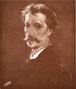 Walter Shirlaw - Self-portrait