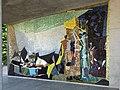 Wand Mosaik, Kennen und Erkennen, 1955–60, Eingang Spalengraben, Universität Basel, Schweiz. Von Coghuf, Ernst Stocker (1905–1976) Künstler.jpg