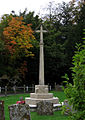 War Memorial, St Mary's Oakley - geograph.org.uk - 383542.jpg