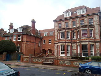 Eastbourne College - Front view of the Wargrave House