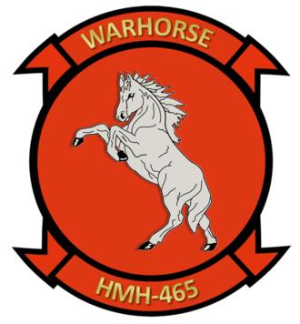 HMH-465 - Image: Warhorse Patch