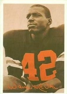Warren McVea American football player