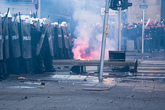 National Independence Day (Poland) - Street riots, 2011