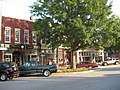 Washington, Georgia storefronts in Commercial Historic District.JPG