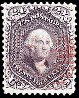 Washington, general issue of 1862, 24c