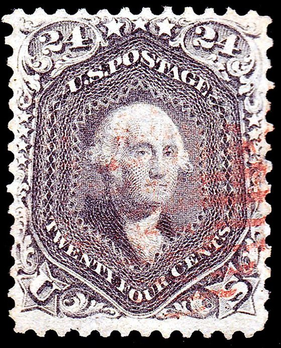 Washington 1862 Issue-24c
