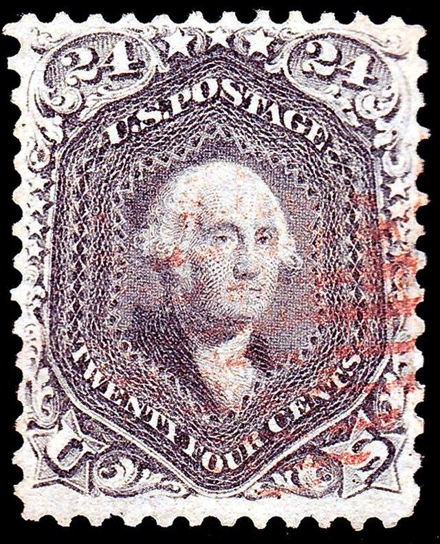 Washington 1862 Issue-24c