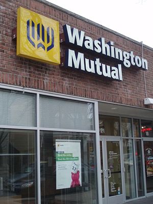 Washington Mutual - A WaMu office in Naperville, Illinois