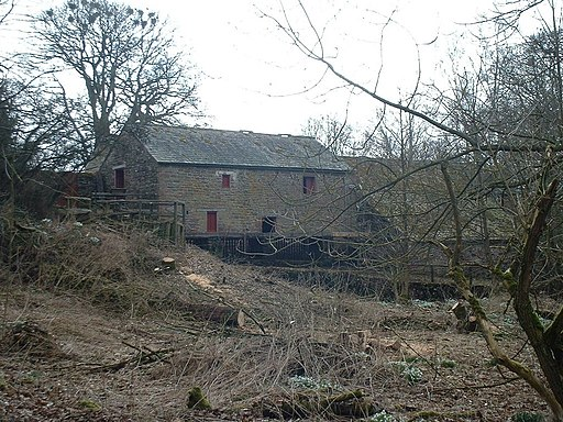 Water Mill at Acorn Bank - geograph.org.uk - 1776994