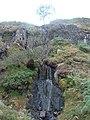 Waterfall Head of Miterdale - geograph.org.uk - 74653.jpg