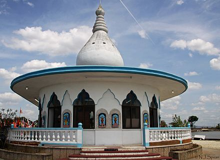 Temple in the Sea, a Hindu mandir in Trinidad and Tobago Waterloo Temple, Trinidad.jpg