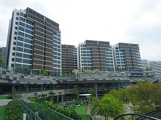 Punggol Watertown integrated development in Singapore