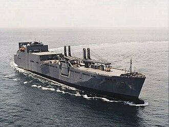 Large, Medium-Speed Roll-on/Roll-off - USNS Watson at sea