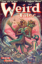 Weird Tales cover image for July 1949