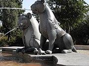 West Jerusalem Lions Fountain Close Up