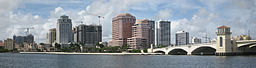 West Palm Beachs skyline