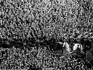 West Ham United F.C. - Billie the White Horse, saviour of the 1923 FA Cup Final