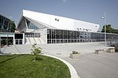 Photo de la Wiener Stadthalle, salle où s'est tenu l'Eurovision 2015.