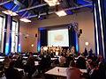 WikiCon 2013-Big room freiwilligers.JPG