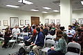 WikiXDC crowd during introductions, 2011-01-22.jpg