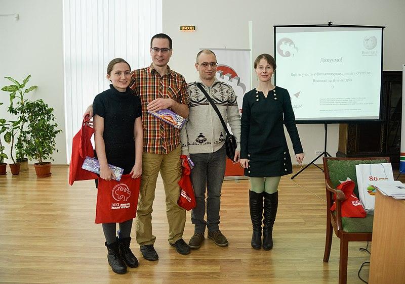 Присутні члени оргкомітету; фото Валерії Мезенцевої, cc by-sa 4.0