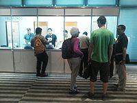 Wikimania 2015-Wednesday-Registration desk (2).jpg