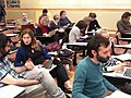 Wikipedia Workshop at the Victor Balaguer Museum in Catalonia- April 2012.JPG