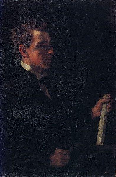 File:Wilhelm Trübner Student Michaelis.jpg
