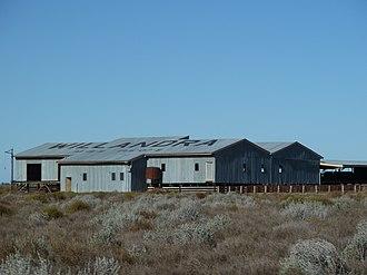 Willandra Homestead - Willandra shearing shed