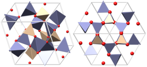 Willemite - Crystal structure of willemite