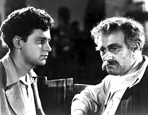 Golden Boy (film) - William Holden and Lee J. Cobb in Golden Boy