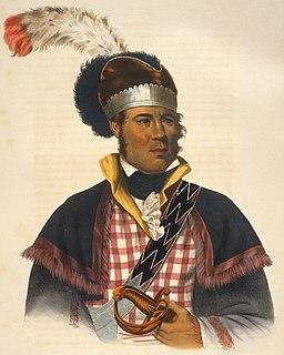 William McIntosh Muscogee chief