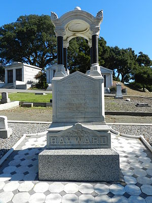 William Dutton Hayward - Hayward grave at Lone Tree Cemetery