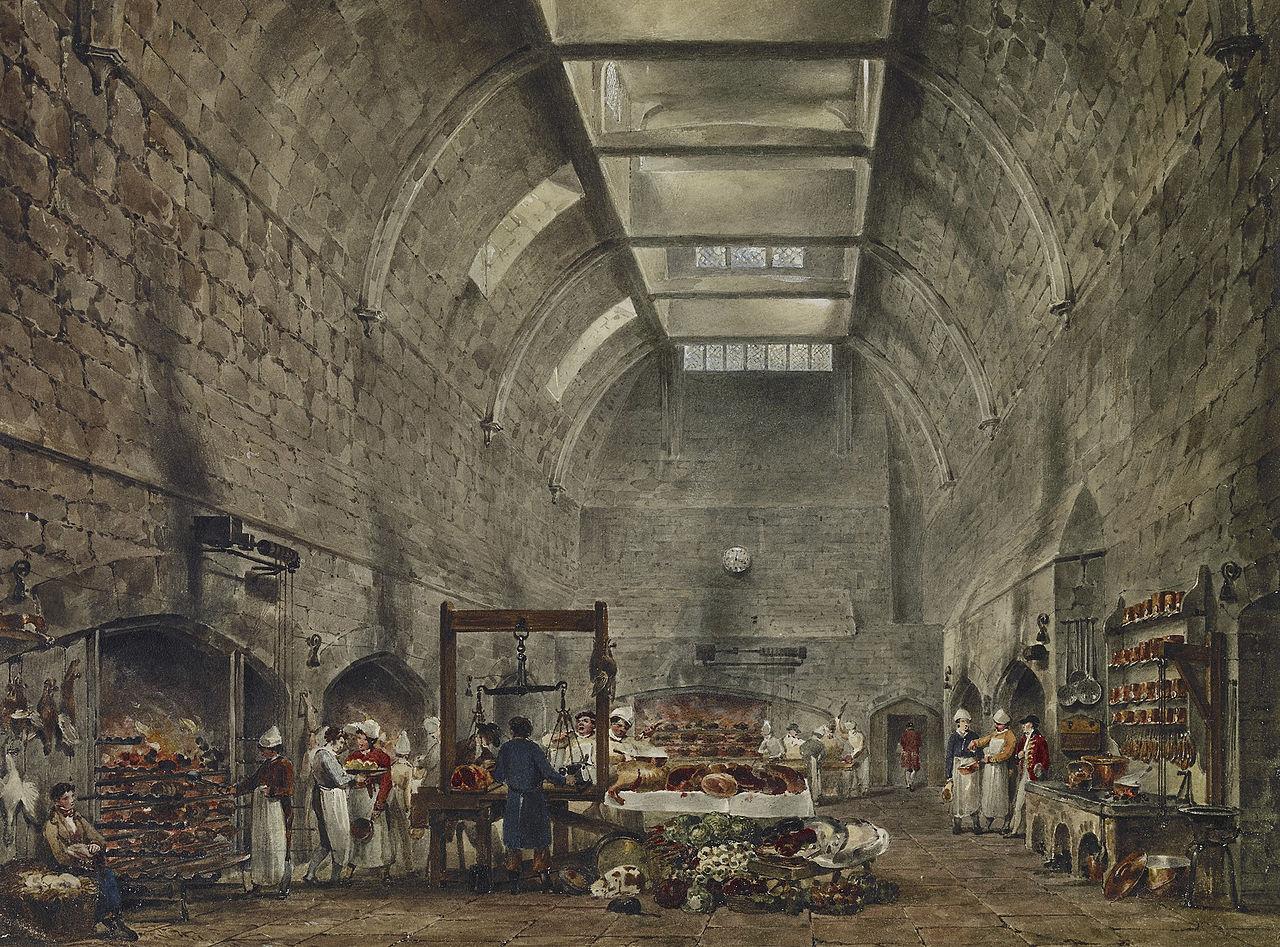 File Windsor Castle Kitchen By James Stephanoff 1818