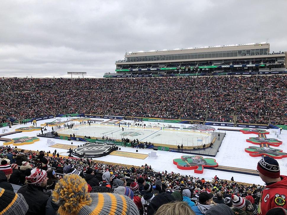 Winter Classic at Notre Dame Stadium, 2019