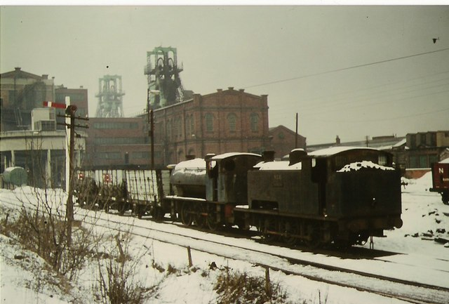 Winter at Blackhall colliery
